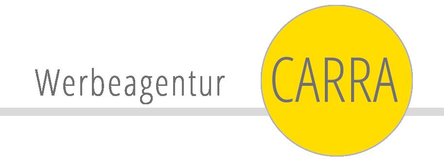 Logo Werbeagentur Carra